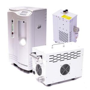 מכשירים נלווים למערכות תא חמצן בלחץ מתון